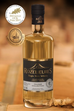 Single Malt Whisky G.Rozelieures Tourbé Collection 70cl